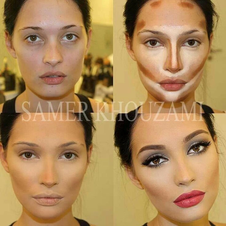 Step By Makeup Contouring - The Best Makeup Tips and Tutorials